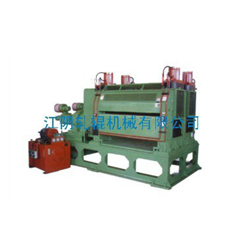 Hydraulic double row embossing machine